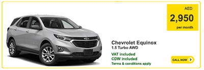 Europcar Dubai Monthly Car Rentals In Dubai